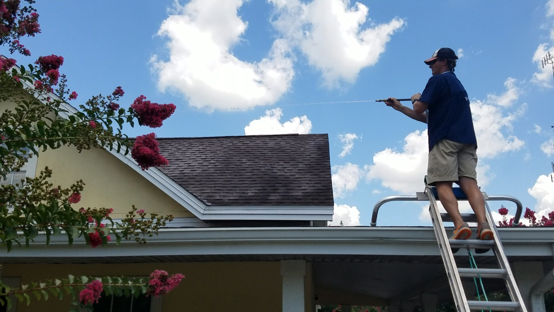 Roof Cleaning Softwash Systems