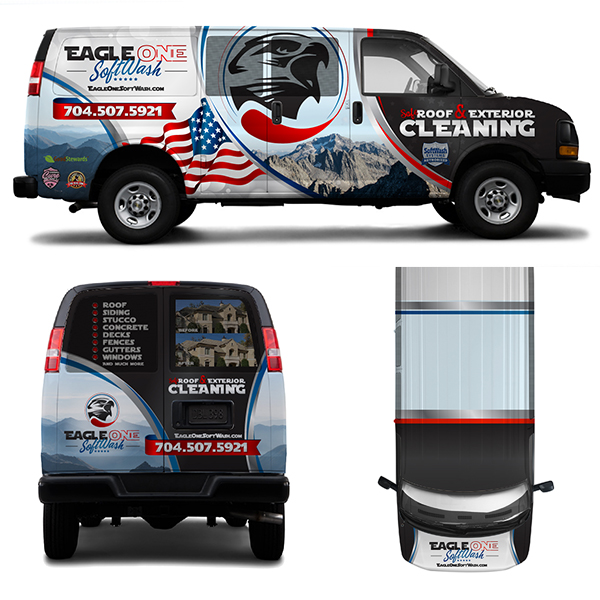 Vehicle Wrap Design Softwash Systems