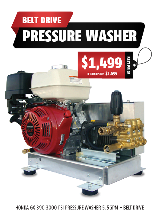 Belt Drive - Pressure Washer
