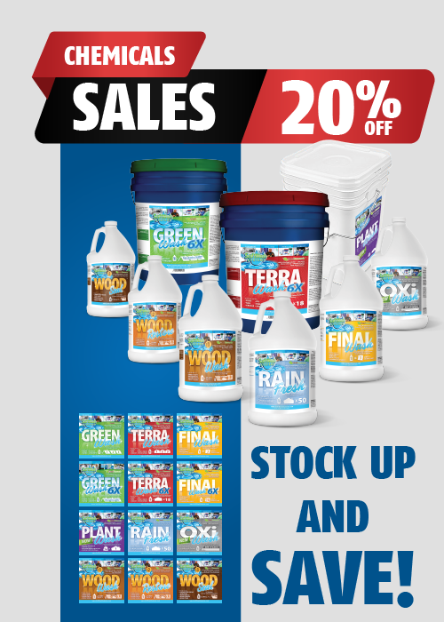 Softwash Systems Chemicals Sales - 20% OFF