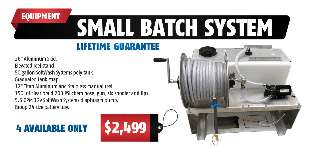 Small Barch System. Limited Lifetime Guarantee