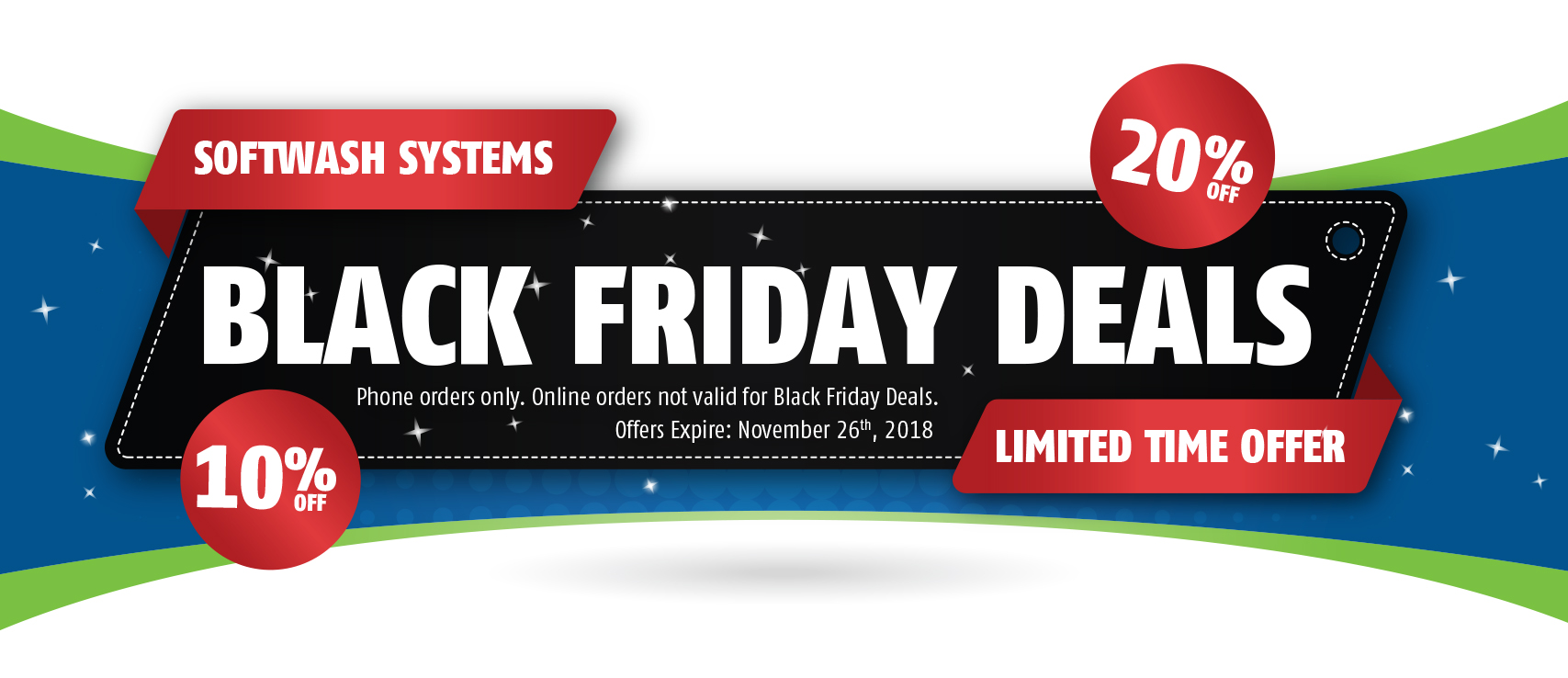 SoftWash Systems Early Black Friday Deals